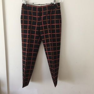 J. Crew wool/silk Cropped pants